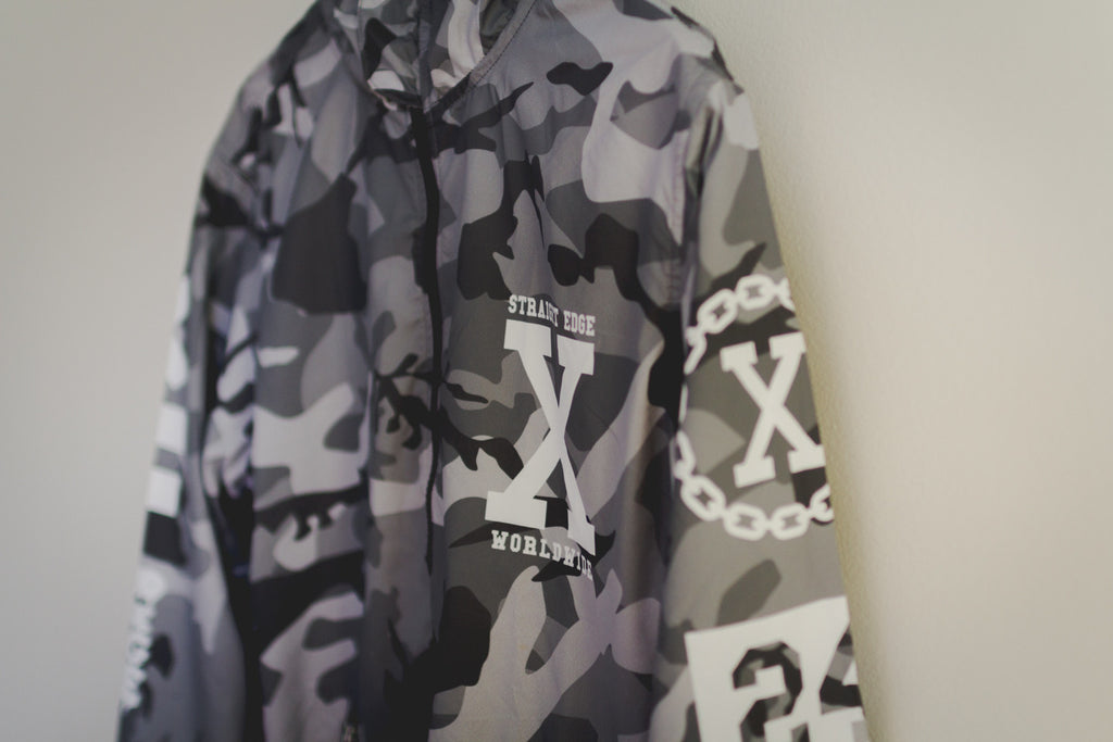 Winter Camo Windbreaker