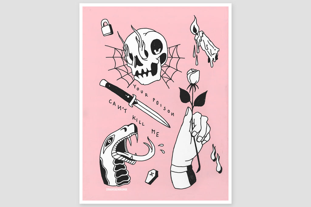Your Poison Can't Kill Me Print