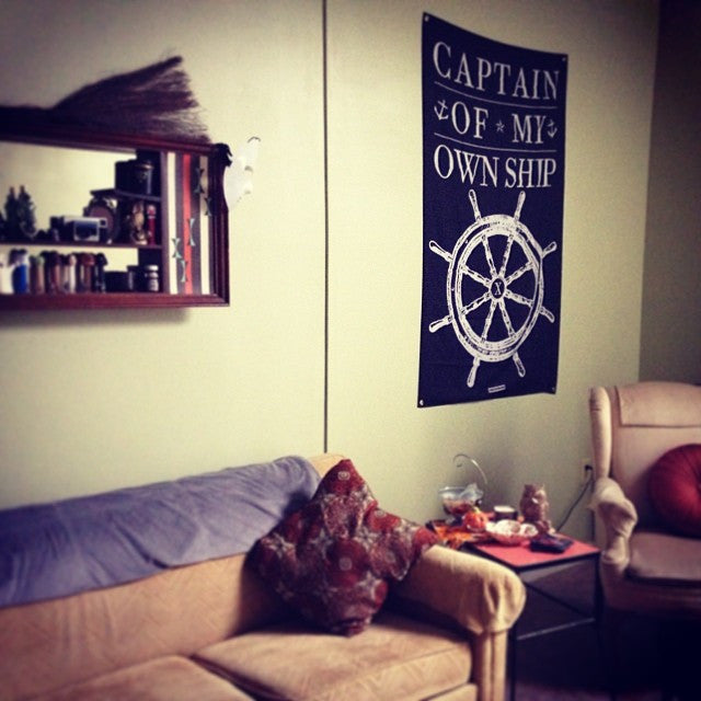 Captain Of My Own Ship Banner