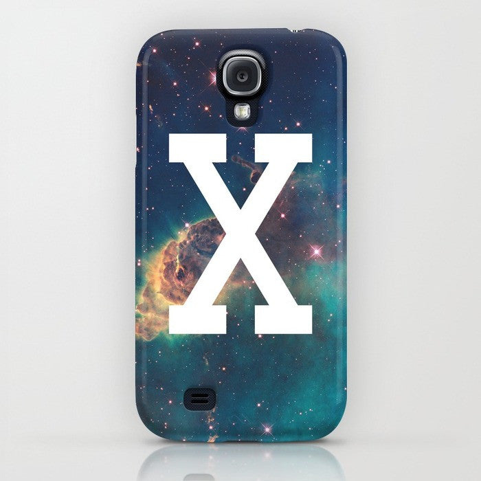 Straight Edge phone case in blue by STRAIGHTEDGEWORLDWIDE