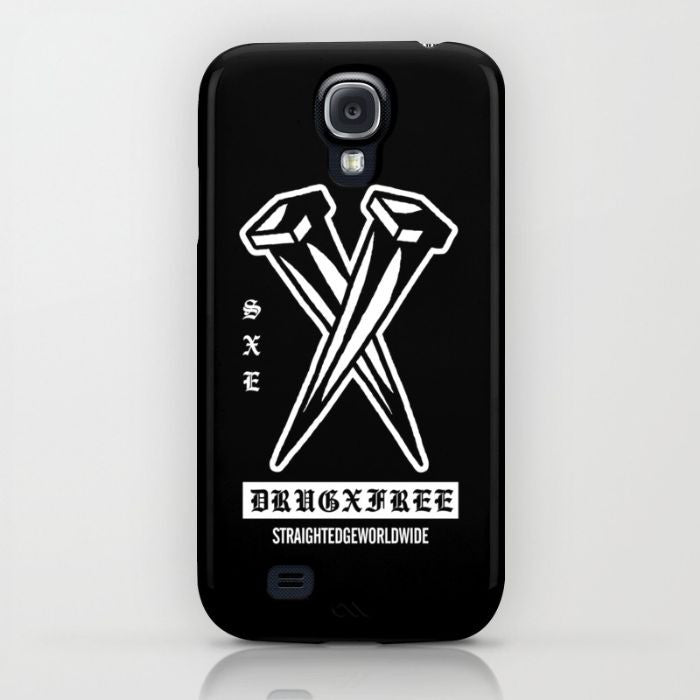 Drug Free Phone Case by STRAIGHTEDGEWORLDWIDE