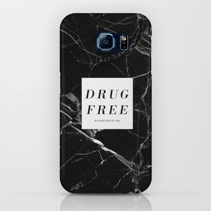 Drug Free Phone Case