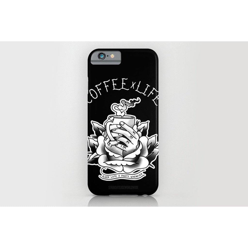 Coffee Life iPhone Case