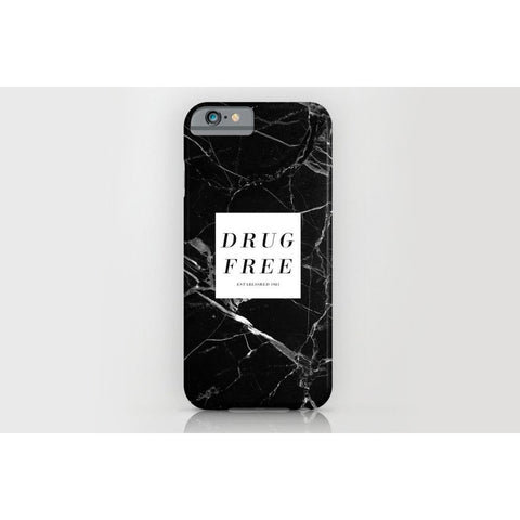 Drug Free iPhone Case