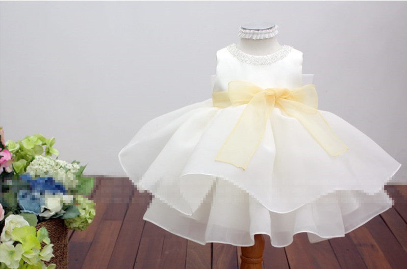 Angel Flower Girl Dress Party Dress PD-AO021