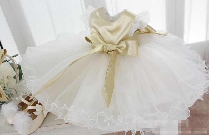 Royal Style Flower Girl Dress Party Dress PD-AO031