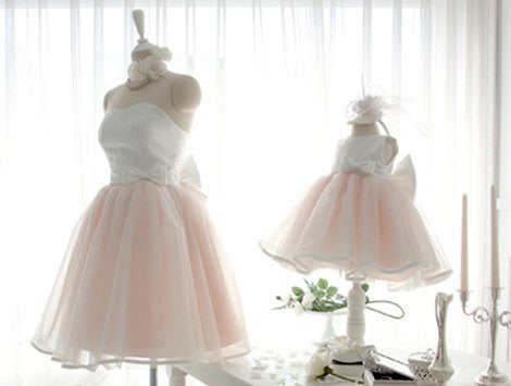Elegant Mother Daughter Matching Dress MD-LYU008