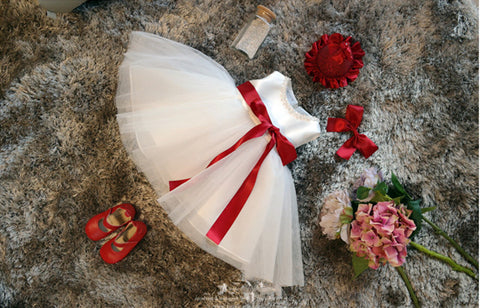 Basic Style Flower Girl Dress Party Dress PD-AO0010