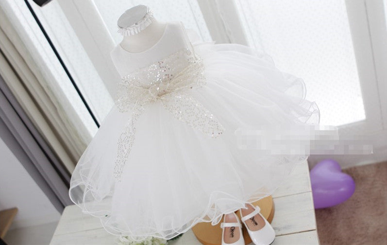 Bling Bling Flower Girl Dress Party Dress PD-AO029