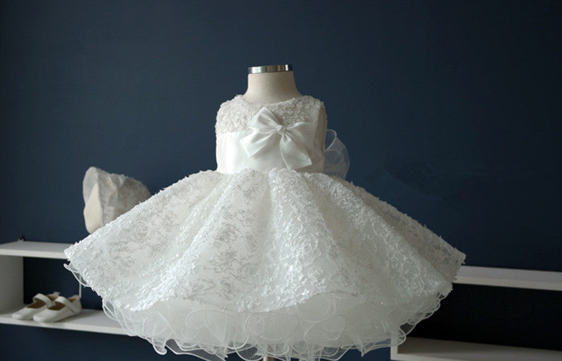 Princess Flower Girl Dress Party Dress PD-AO007
