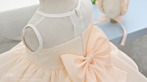 Cream Baby Flower Girl Dress Party Dress PD-AO028