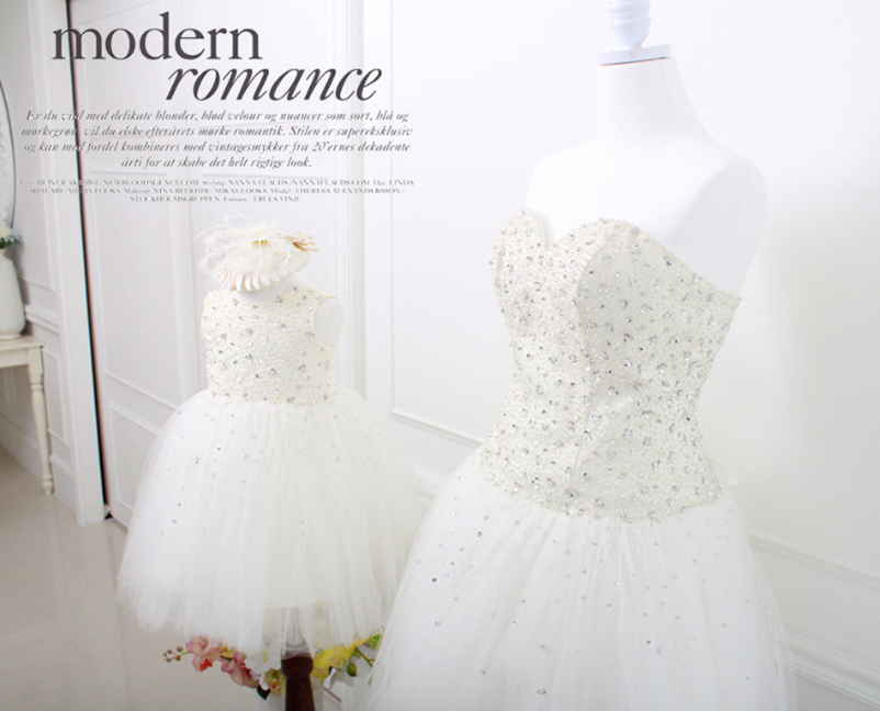 Elegant Mother Daughter Matching Dress MD-DH004