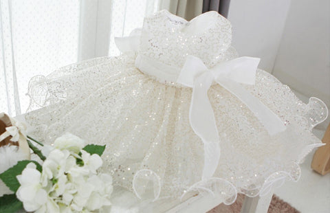 Bling Bling Flower Girl Dress Party Dress PD-AA001