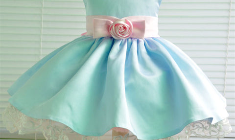 Lovely Baby Flower Girl Dress Party Dress PD-TSBB001
