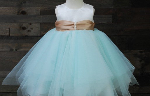 Lovely Baby Flower Girl Dress Party Dress PD-TSBB006