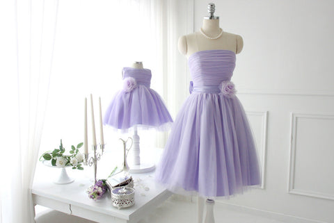 Elegant Mother Daughter Matching Dress MD-LYU013