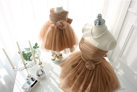 Elegant Mother Daughter Matching Dress MD-LYU011