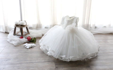 Boutique Baby Flower Girl Dress Party Dress PD-LYU002