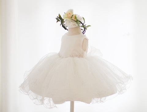 Fancy Flower Girl Dress Party Dress PD-JC002
