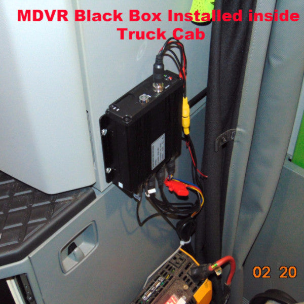 Trucker MDVR GPS 720P HD System w/ 3 Cams (can add 4th) & 7