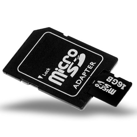 16 GB MicroSD with Adapter -Class 10 Card