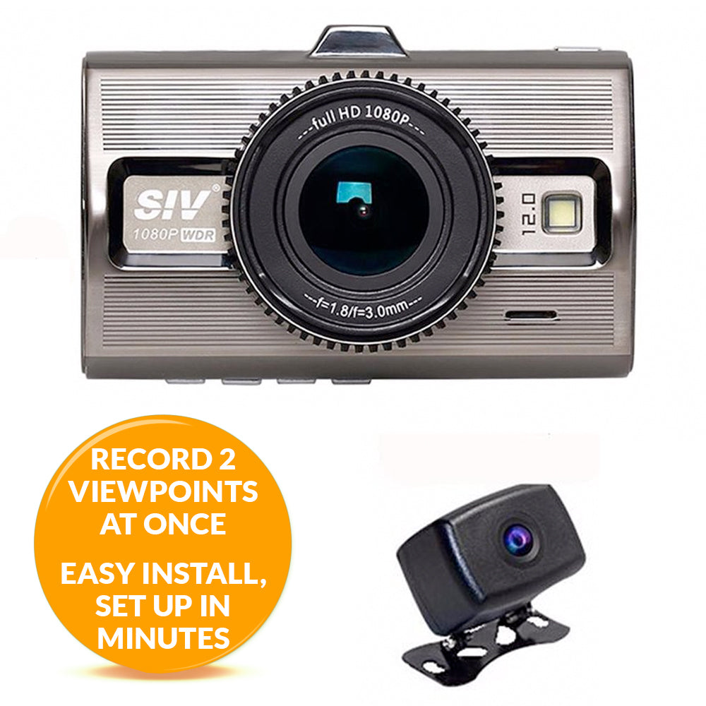 Dash Camera - Prime 2 - Includes 2 Cams (1 outdoor cam)! Best Day/Night Video! FREE Shipping!