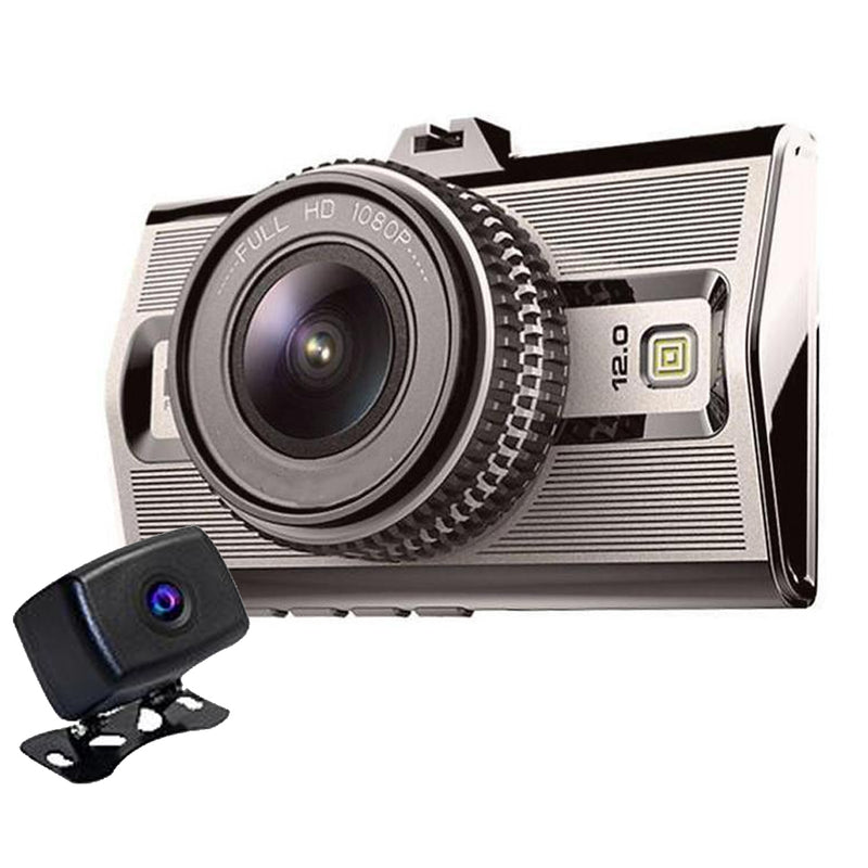 Prime2 Dual Cam Dash Cam System! WDR 1080P Dual Cams! Great Day/Night Video!