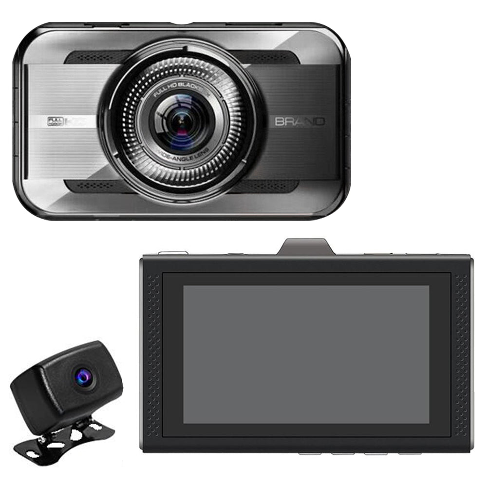 Dash Cam Dual Camera - Prime2 2nd Gen System! WDR 1080P. Great Day/Night Video!
