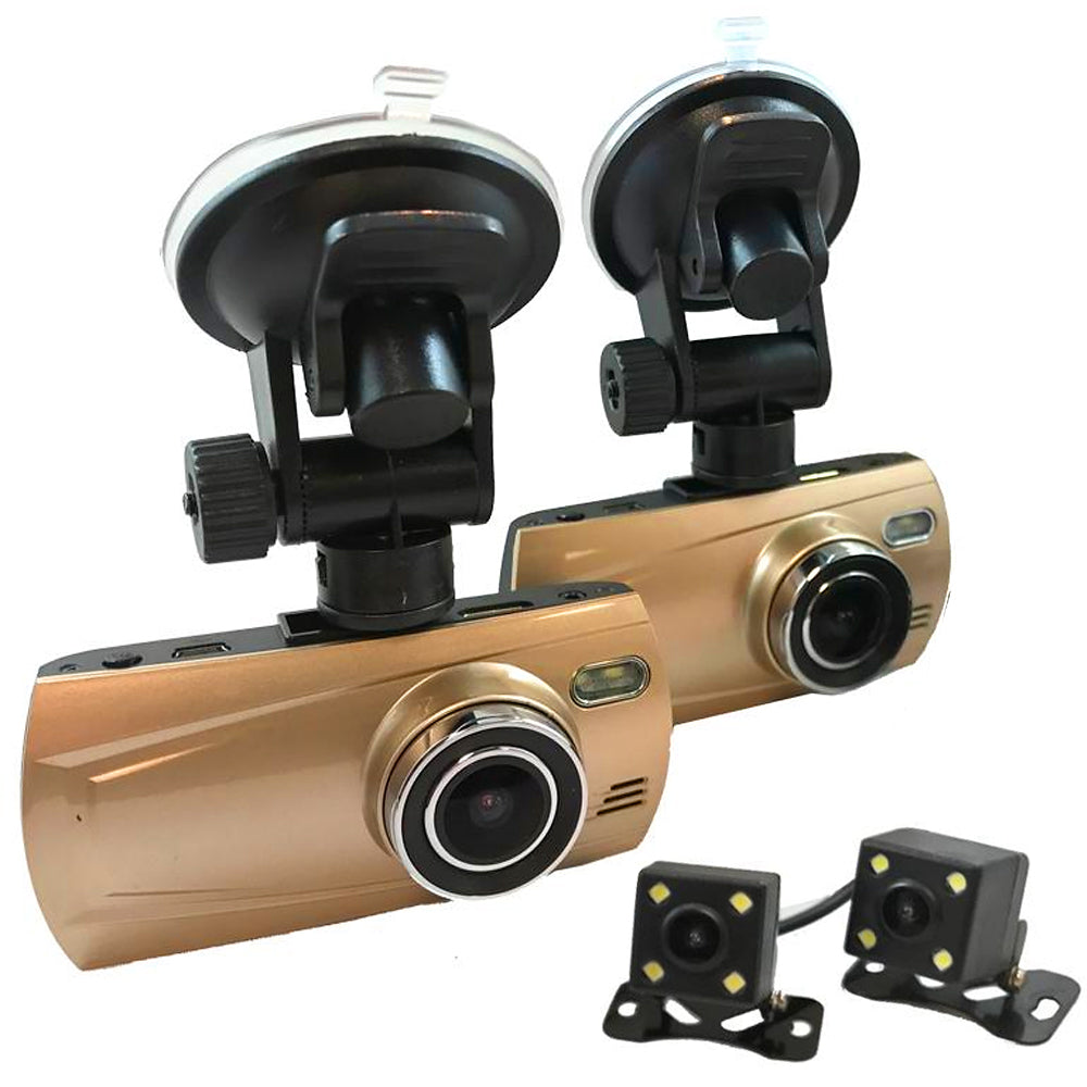 LANDSTAR 4 Cam 1080P Trucker Dash Cam - Record from 4 viewpoints! Optional GPS!
