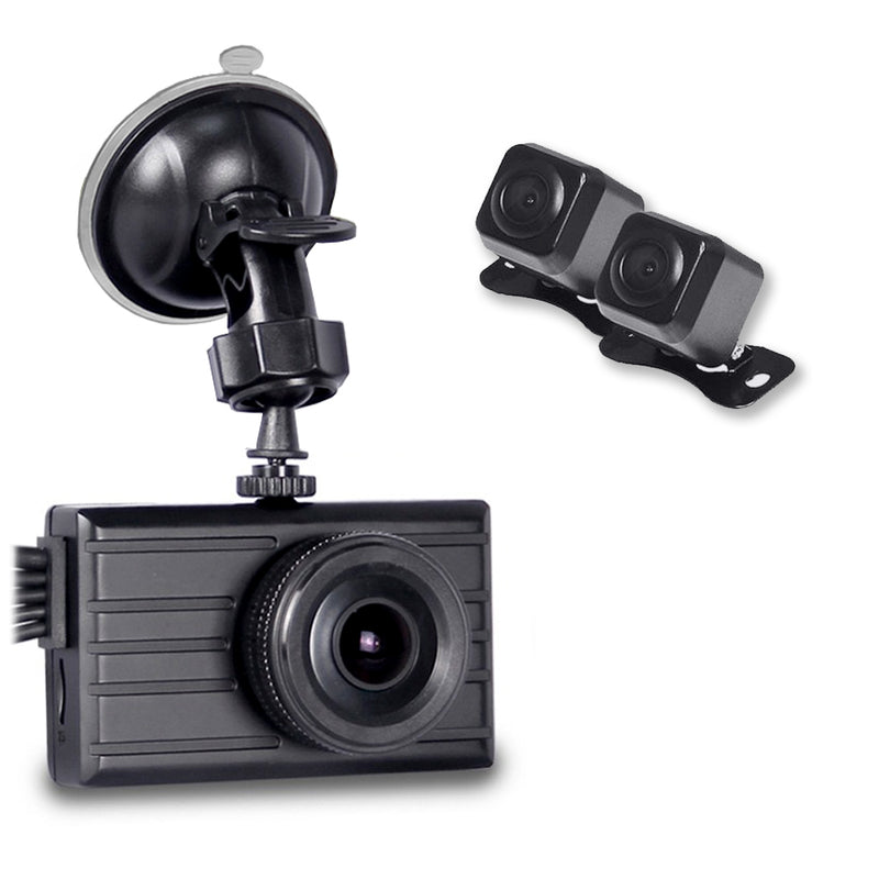 3 Dash Camera System - One Power Source