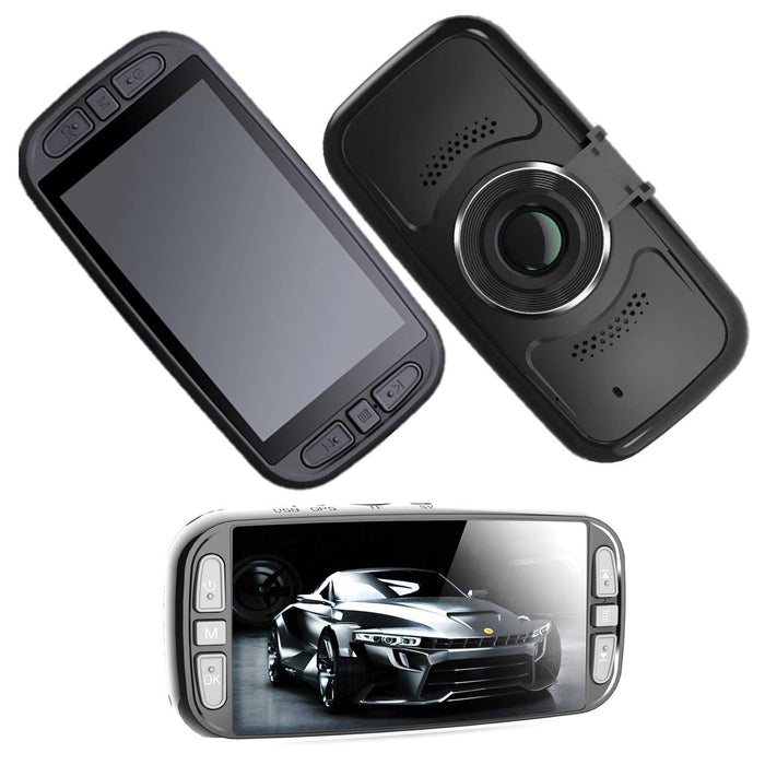 Front and Rear Dash Cam - Pinnacle Dual With WIFI, GPS and 4K