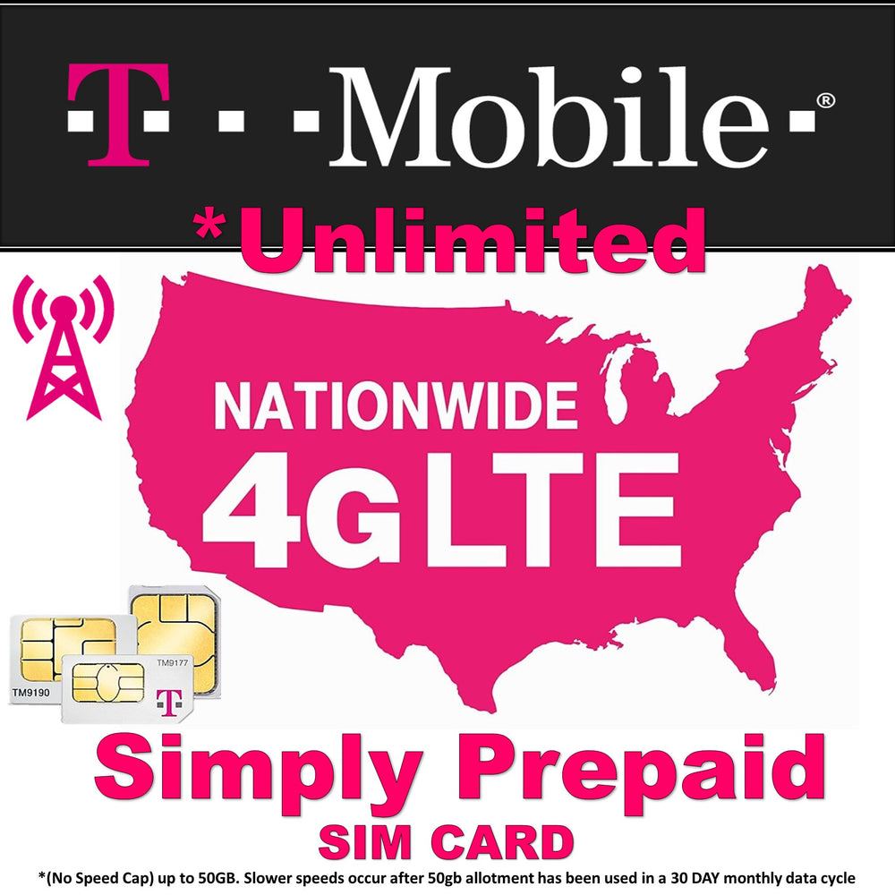 T-Mobile $40 4G Unlimited Plan
