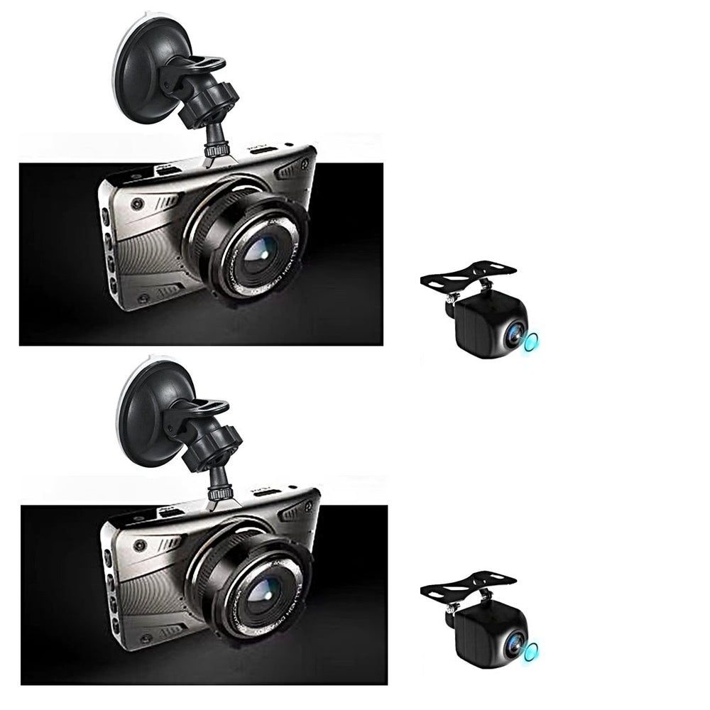 Prime 4 Camera Dash Cam, Record 4 Viewpoints in 1080P Video