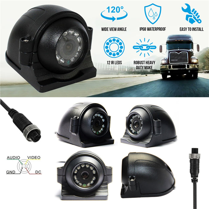 720P Heavy Duty Aerodynamic Side View Camera