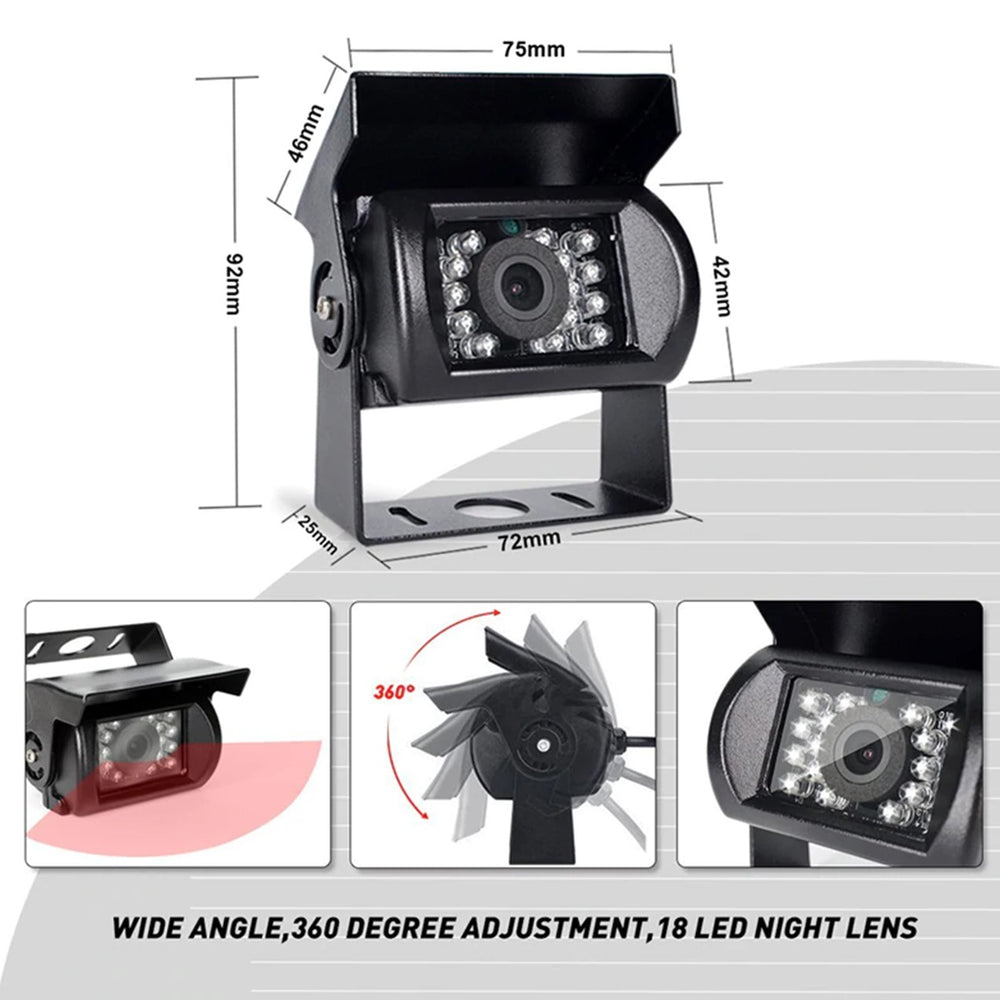Select Quantity 720P Heavy Duty Rotating Cam with Night Vision
