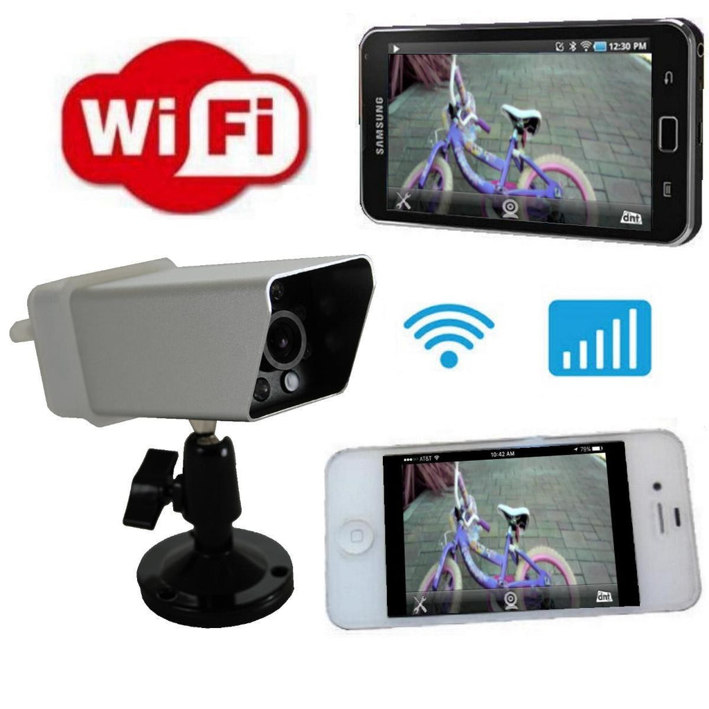 Magnetic WiFi Backup Camera - View Behind you on FREE App on Phone! Installs in seconds - FalconEye Trucker Dash Cams  - 1
