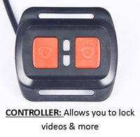 FalconEye 3 Camera Dash Cam Controller - allows you to turn off/on recording and save videos