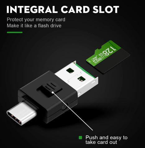 SD Card Reader for Phones/Tablet! Transfer Video to Phone/Tablet in Seconds