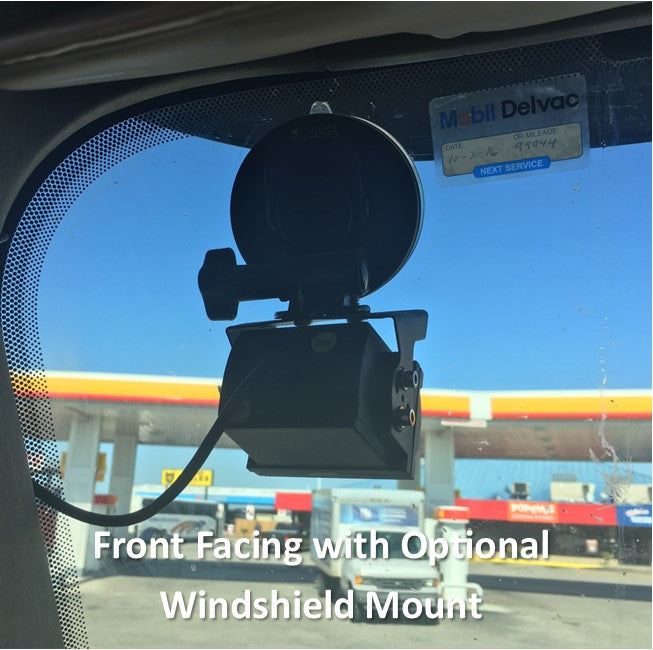 HIDDEN Dash Cam Live Streaming MNVR 3-8 Cam 1080P Style with 4G, WIFI, GPS
