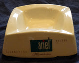 PORCELAIN ASHTRAY ARIEL FRENCH CIGARETTES