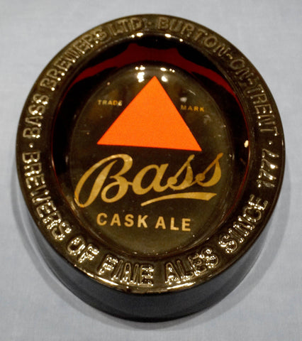 GLAZED EARTHENWARE ASHTRAY - BASS CASK ALE