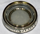 GLASS ASHTRAY - NEWCASTLE BROWN/TARTAN BEER
