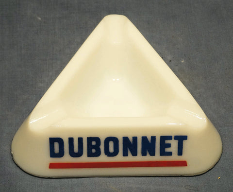 ARCOPAL (PYREX) TABLE ASHTRAY DUBONNET