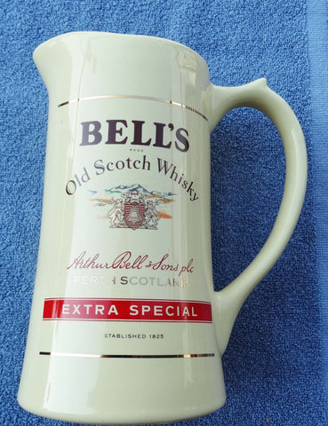 SOLD*SOLD*SOLD!  BAR WATER JUG BELL'S SCOTCH WHISKY