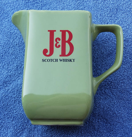 SOLD*SOLD*SOLD!  BAR WATER JUG J & B SCOTCH WHISKY