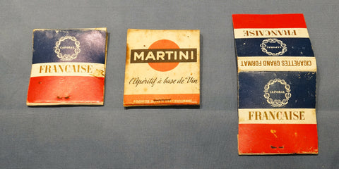 FRENCH STATE TOBACCO MONOPOLY MATCH BOOKS
