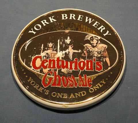 SOLD*SOLD*SOLD! EARTHENWARE PUMP CLIP CENTURION'S GHOST ALE