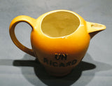 SOLD*SOLD*SOLD! RARE EARTHENWARE BAR WATER JUG PROMOTING UN RICARD ANISETTE