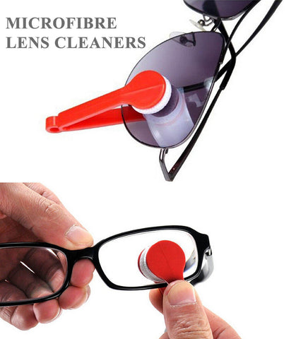 MICROFIBRE LENS/SPECTACLE CLEANING TOOL
