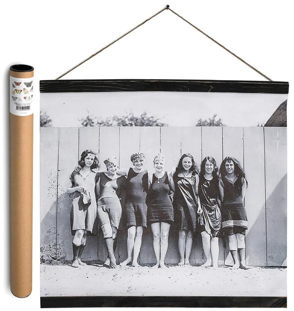 Wall Banner - Vintage Women Standing